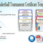 NEW DESIGN! 10+ Basketball Tournament Certificate Templates