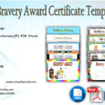 10+ Bravery Award Certificate Templates with [FUNNY DESIGN]