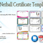 Netball Certificate Templates [10+ Best Designs]
