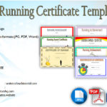 Download 10+ Running Certificate Templates FREE