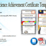 Download 10+ Science Achievement Award Certificate Templates Free