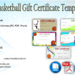 Basketball Gift Certificate Templates Free