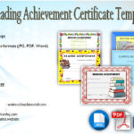 Download 5+ Reading Achievement Certificate Templates Free