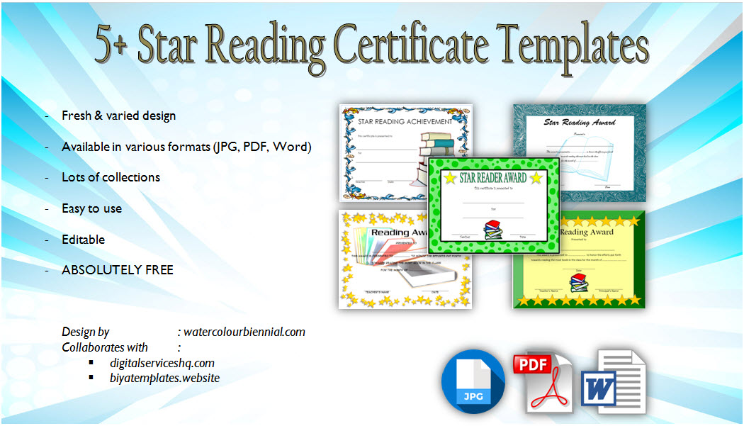 Get the super star certificate, accelerated reader certificates template, editable reading, achievement award for students, pdf, word, printable superstar, free download