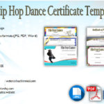 Download 6+ Hip Hop Dance Certificate Templates [COOLEST DESIGNS]
