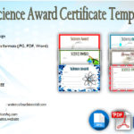 Download 6+ Science Award Certificate Templates Free