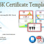 5K Race Certificate Templates Free [7+ BEST Choices in 2019]