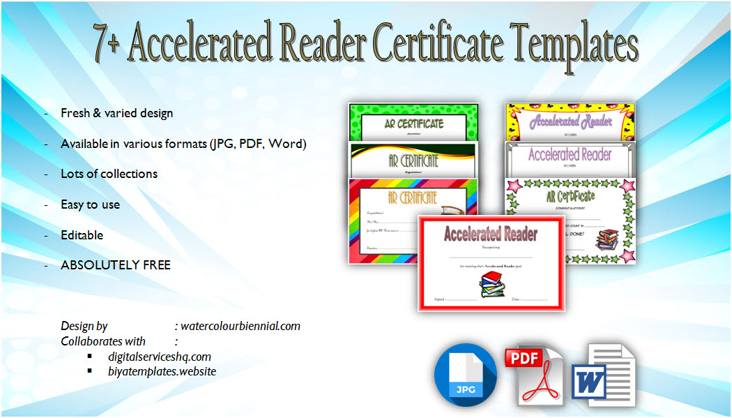 Download 7 Accelerated Reader Certificate Templates Free