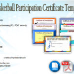 Download 7+ Basketball Participation Certificate Editable Templates