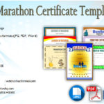 Marathon Certificate Templates Free: 7+ BEST CHOICES in 2019