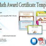 Download 7+ Math Award Certificate Templates Free