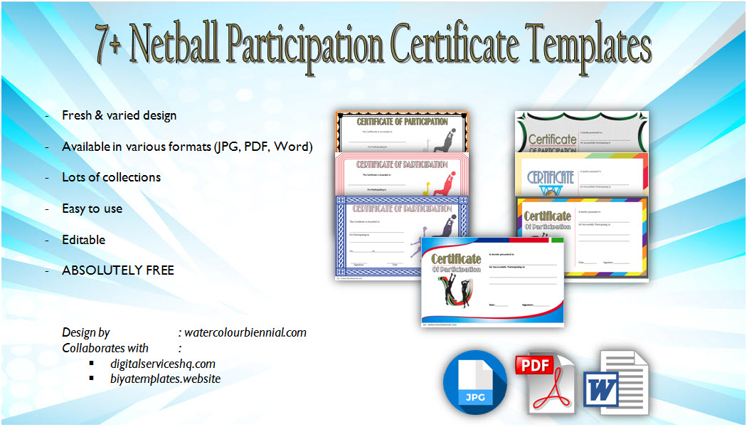 netball participation certificate templates, netball certificates to print, netball certificate of appreciation, netball certificates free download, netball certificate awards, funny netball certificates, netball awards ideas, netball certificate ideas, netball award titles, editable netball certificates, little miss netball awards