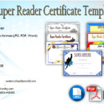 Download 7+ Super Reader Certificate Templates Free