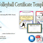 Download 7+ Volleyball Certificate Templates Free