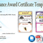Download 8+ Dance Award Certificate Templates [VARIOUS DESIGNS]