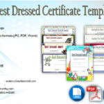 Best Dressed Certificate Template [9+ Great Designs]