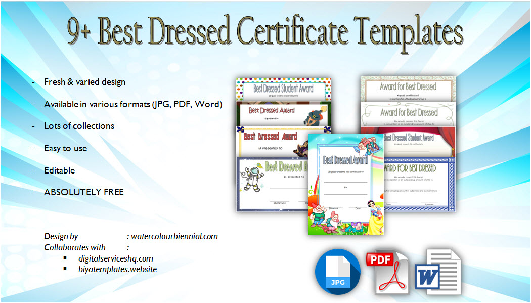 best dressed certificate template, best dressed award certificate template, best dressed female certificate template, best dressed male certificate, free certificate template, printable best dressed certificate, halloween costume award certificate template, free modern certificate templates, printable best dressed certificate, certificate templates word, certificate of achievement template, certificate templates free download, editable certificate template pdf, certificate of appreciation templates, certificate of recognition template