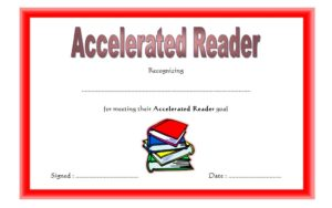 download 10 fresh design of accelerated reader certificates, millionaire, award certificate templates, reading, ar, pdf, word, super, achievement for free!