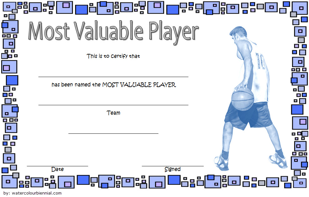 Download 10+ Basketball MVP Certificate Editable Templates