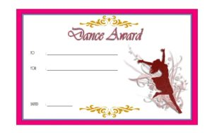 Get the best Dance Award Certificate Templates, team, achievement, pdf certificates, word, printable, hip hop, ballet, template free download!
