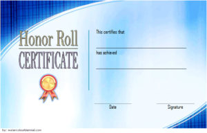 Download Certificate of Honor Roll Template, society award, principal's certificates for elementary school, printable pdf, microsoft word, editable templates, appreciation free!