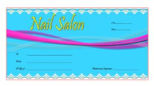 nail salon gift certificate template, printable nail gift certificate, manicure gift certificate, salon gift certificate template free printable, massage gift certificate template, free printable manicure gift certificate template, beauty salon gift certificate template free, nail salon gift certificate design, nail salon gift certificate printing, gift voucher template, salon gift certificate template word, free printable beauty salon gift certificate templates