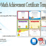 Download 9+ Math Achievement Certificate Templates Free