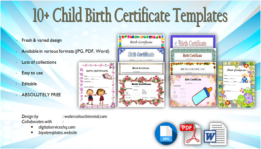 7  stuffed animal adoption certificate editable templates