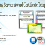 Long Service Award Certificate Templates [7+ Official Designs FREE]