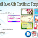 Nail Salon Gift Certificate Template [7+ Beautiful Designs]