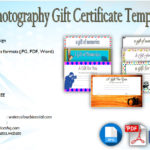 Photography Gift Certificate Template [7+ Unique Designs]