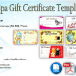 Spa Gift Certificate Template [7+ Therapeutic Designs]