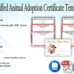 7+ Stuffed Animal Adoption Certificate Editable Templates