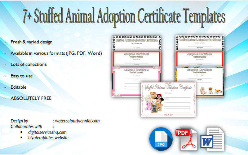 stuffed animal adoption certificate editable templates, stuffed animal adoption certificate template, editable pet adoption certificate, pet adoption certificate pdf, dog adoption certificate template, cat adoption certificate template, adoption certificate template word, free printable cat adoption certificate, teddy bear adoption certificate printable free, free stuffed animal adoption certificate, child adoption certificate template, free adoption certificate template word