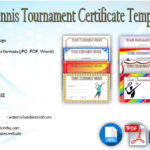 Tennis Tournament Certificate Templates [8+ Sporty Designs Free]