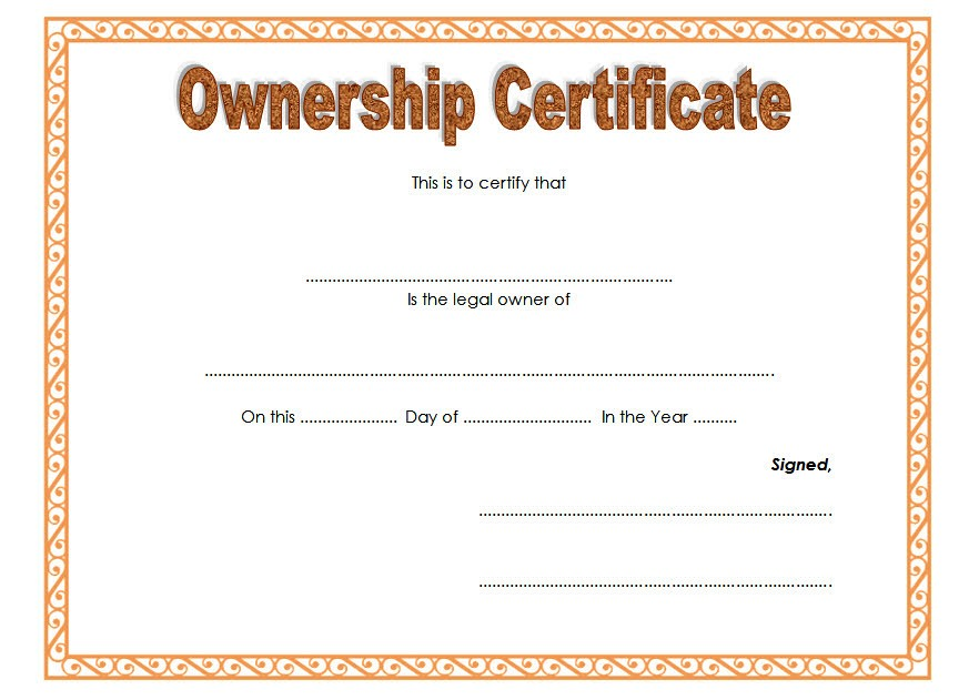 download ownership certificate templates editable, certificate templates free download, certificate of ownership template, editable certificate template, free certificate templates for word, certificate of appreciation template free download, property ownership certificate template, pet ownership certificate template, certificate of ownership templates pdf, llc ownership certificate template, certificate of stock ownership template, domain ownership certificate template, free printable certificate of ownership