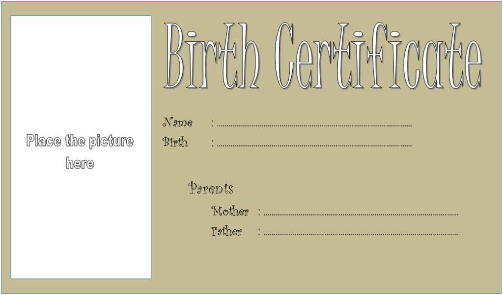 Dog Birth Certificate Template Editable [9+ Designs FREE]