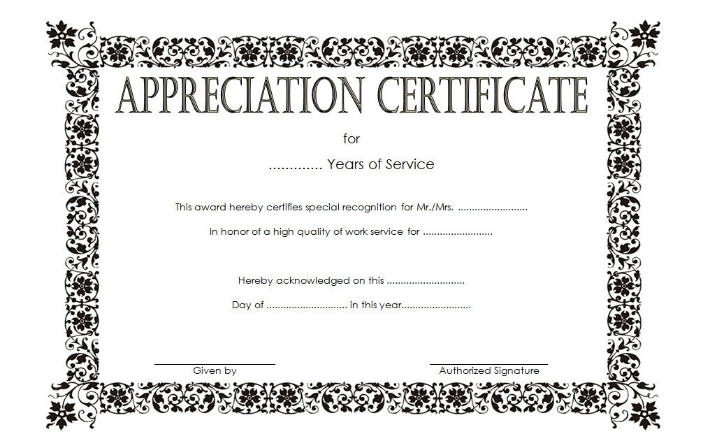 long service award certificate templates, years of service certificate templates word, employee long service award certificates, free printable long service award certificate template, certificate of appreciation template, certificate of achievement template, certificate of recognition template, certificate templates free download