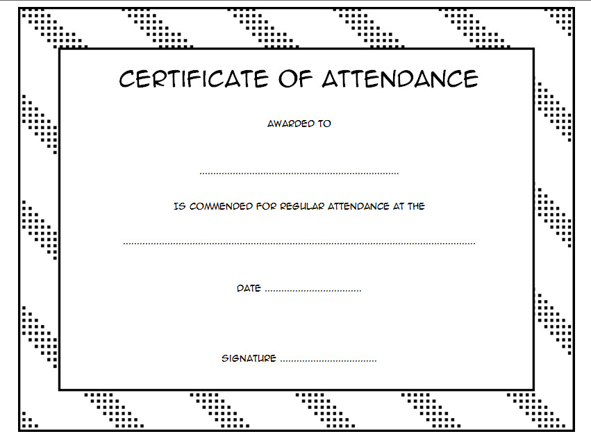 printable perfect attendance certificate template, perfect attendance certificate template editable, employee perfect attendance certificate template free, sunday school perfect attendance certificate template, perfect attendance award certificate template, certificate of recognition perfect attendance template, attendance certificate template word, perfect attendance certificate template free download, attendance certificate format for students, perfect attendance award wording, attendance certificate for teachers