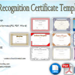 10+ Downloadable Certificate of Recognition Templates