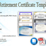 Retirement Certificate Templates [10+ Official Designs]