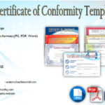 Certificate of Conformity Templates [7+ New Designs FREE]