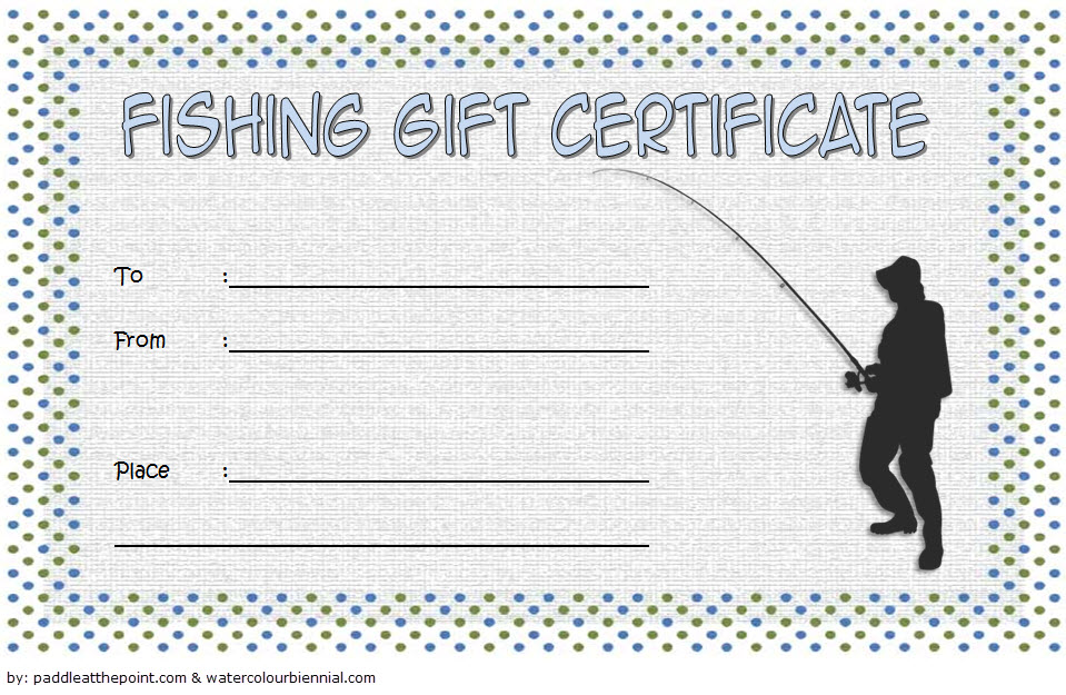 fishing gift certificate editable templates  7  latest