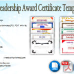 Leadership Award Certificate Templates [10+ BEST DESIGNS]