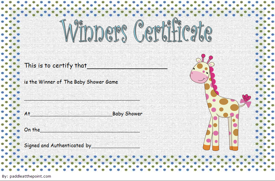 baby shower winner certificates, baby shower certificate template, baby shower game winner certificate templates, printable baby shower certificates