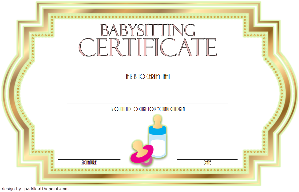 witty babysitting coupon printable