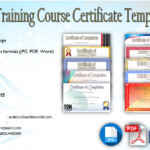 Training Course Certificate Templates [10+ BEST CHOICES]