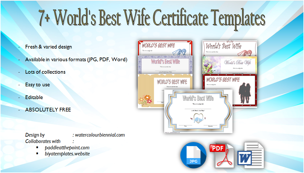 world's best wife certificate template, world's greatest wife certificate, printable best wife certificate, best boss certificate template, love certificate templates free, i love you certificate templates, best wife ever certificate, love certificate for her, world's best certificate template