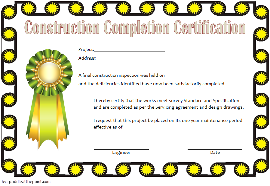 certificate of construction completion template, construction certificate of completion for insurance, certificate of completion contract construction, certificate of completion construction pdf, certificate of completion for construction work, building construction completion certificate format, project completion certificate from client, completion certificate from builder pdf