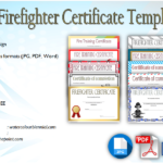 Firefighter Certificate Template [10+ Latest Designs]
